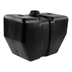"4 Gallon Multi-Purpose Black Tank with 2.25"" Neck"