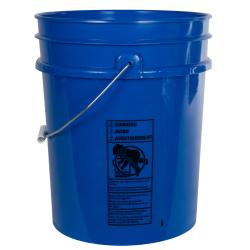 Premium Blue 5 Gallon Bucket