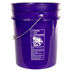 Premium Purple 5 Gallon Bucket