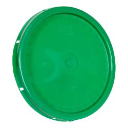 Green Solid Tear Tab Bucket Lid