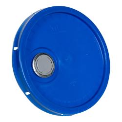 Blue Pour Spout Bucket Lid