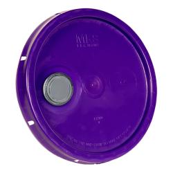 Purple Pour Spout Bucket Lid