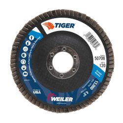 Weiler® Original Tiger® Flap Discs