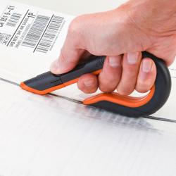 Gray & Orange Manual Slice ® Box Cutter
