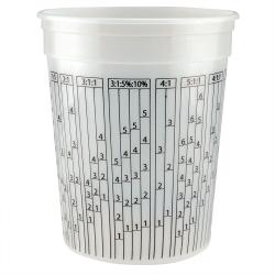 Leaktite ® 1 Quart HDPE Multi-Ratio Container (Lid Sold Separately)