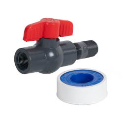 "1/2"" NPT Tamco® Nipple & Valve Kit"