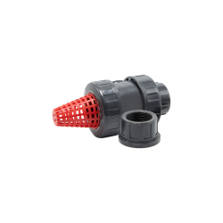 "1-1/4"" Combo Check Valve with FKM O-Ring"