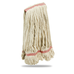 Large Creme Cotton Blend Looped-End Libman® Wet Mop Head
