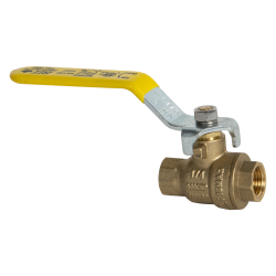 "1/4"" FNPT Brass Full Port Ball Valve"