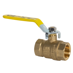 "3/4"" FNPT Brass Full Port Ball Valve"