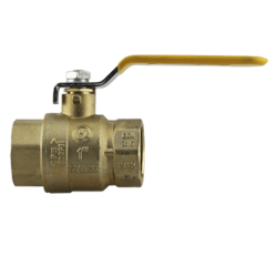 "1/4"" FNPT UL Listed Full Port Brass Ball Valve"