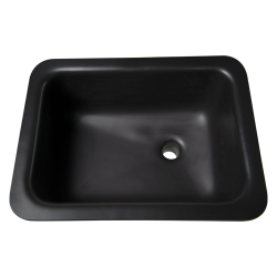 "Sink with Bowl Size 18""L x 15""W x 5 1/2""D Top Size 20 1/2""L x 17 1/2""W"
