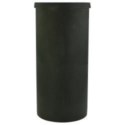 "40 Gallon Black Heavy Weight Tank - 19"" Dia. x 40"" High (Cover Sold Separately)"
