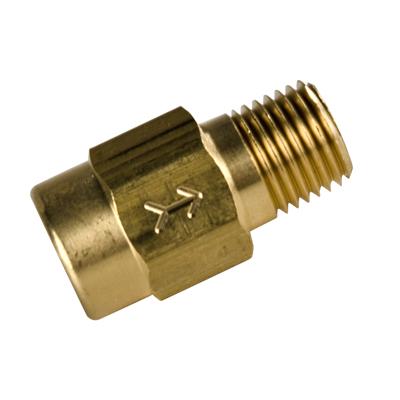 """3/4"""" FNPT x 3/4"""" MNPT Series 1210 Brass Check valve with Buna-N Seals - 1 PSI"""