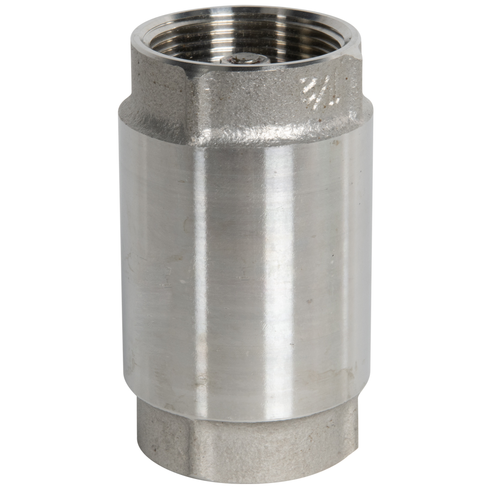 "1-1/4"" FNPT 304 Stainless Steel Check Valve"