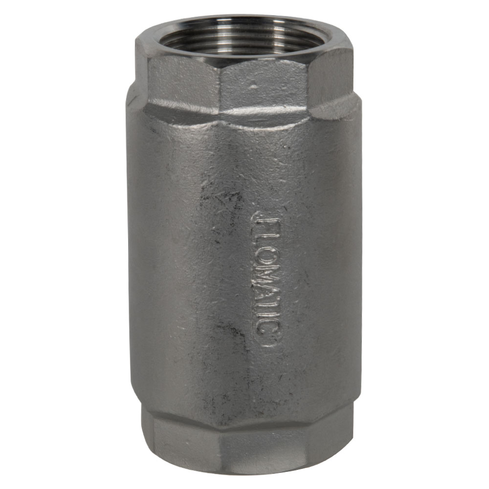 "1-1/2"" FNPT 316 Stainless Steel Check Valve"