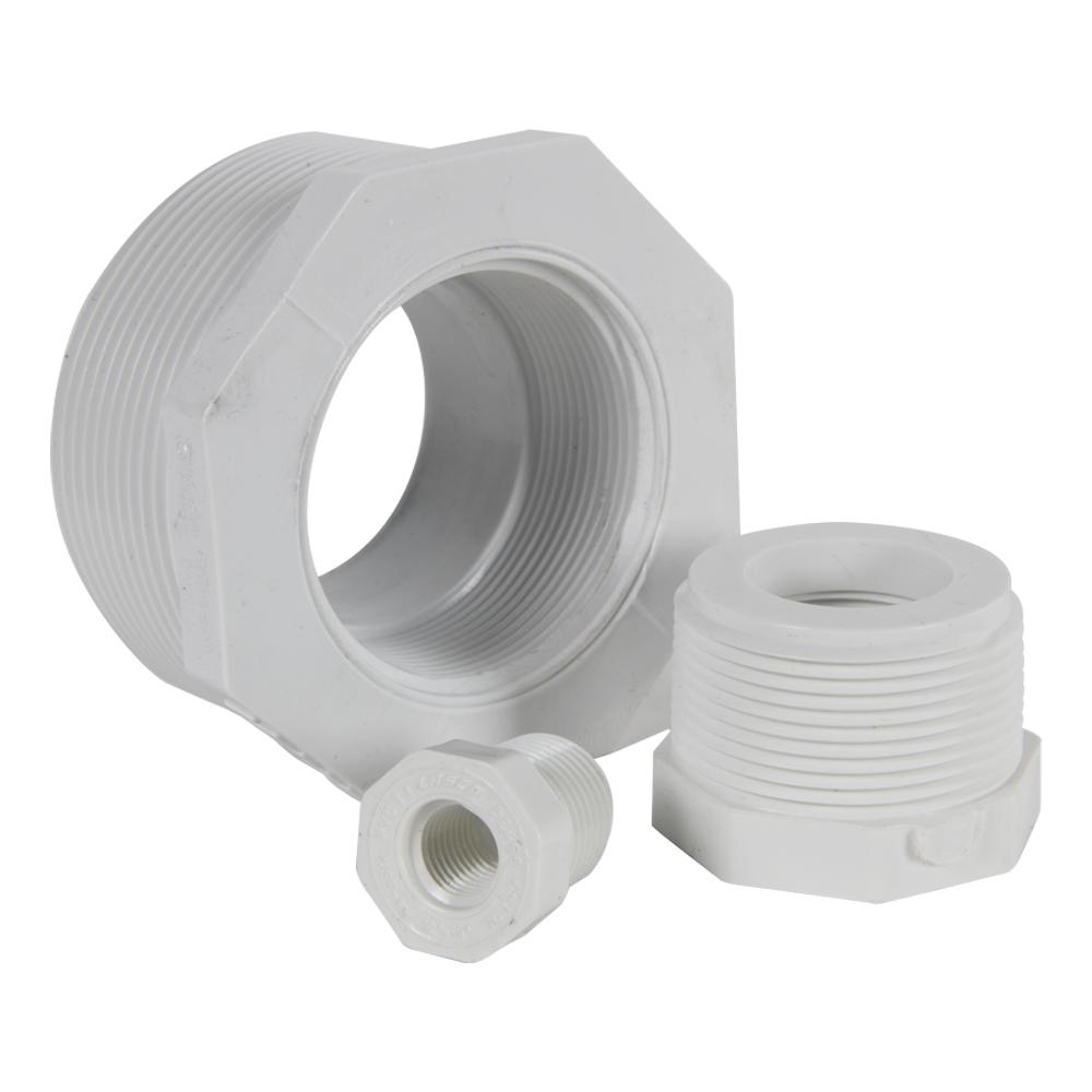 PVC Schedule 40 Threaded Reducing Bushings