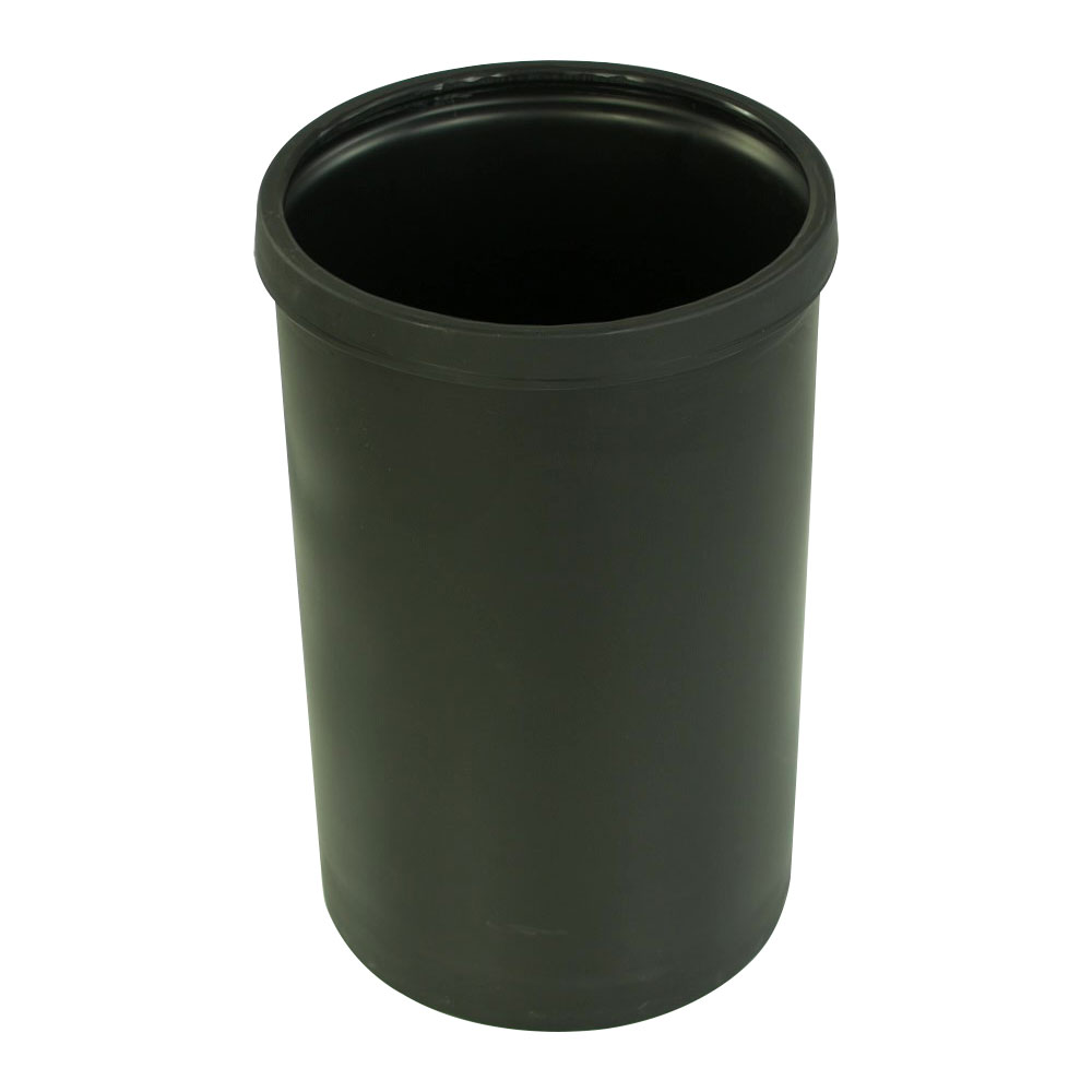 """10 Gallon Black Heavy Weight Tamco® Tank - 13"""" Dia. x 21"""" Hgt. (Cover Sold Separately)"""