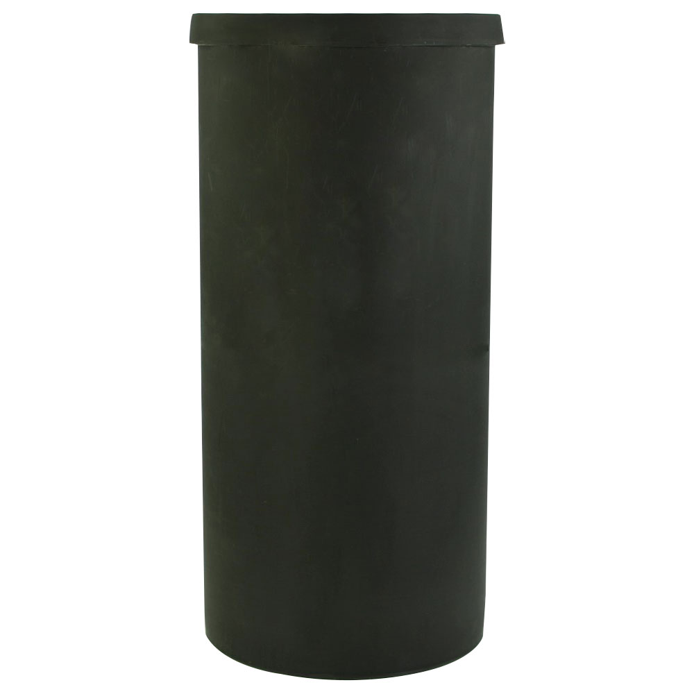 """40 Gallon Black Heavy Weight Tank - 19"""" Dia. x 40"""" High (Cover Sold Separately)"""