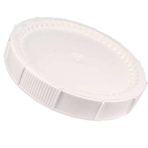 White Cover for Life Latch® 12 Gallon Plastic Drum (3998)
