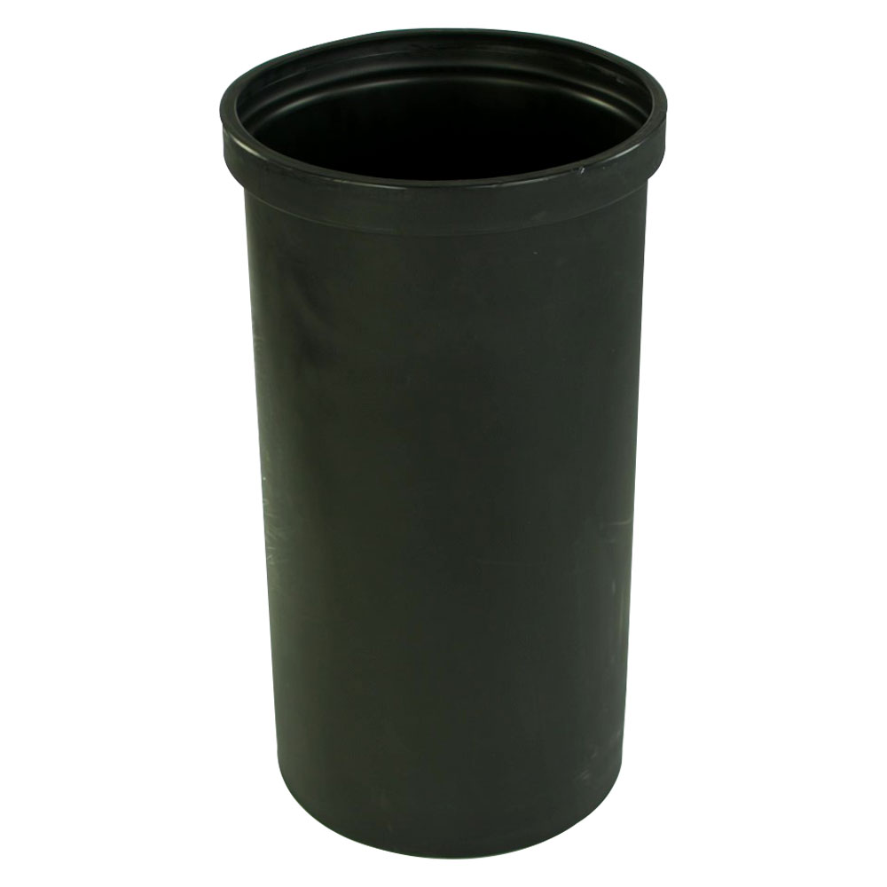 "15 Gallon Black Heavy Weight Tank - 14"" Dia. x 27"" High (Cover Sold Separately)"