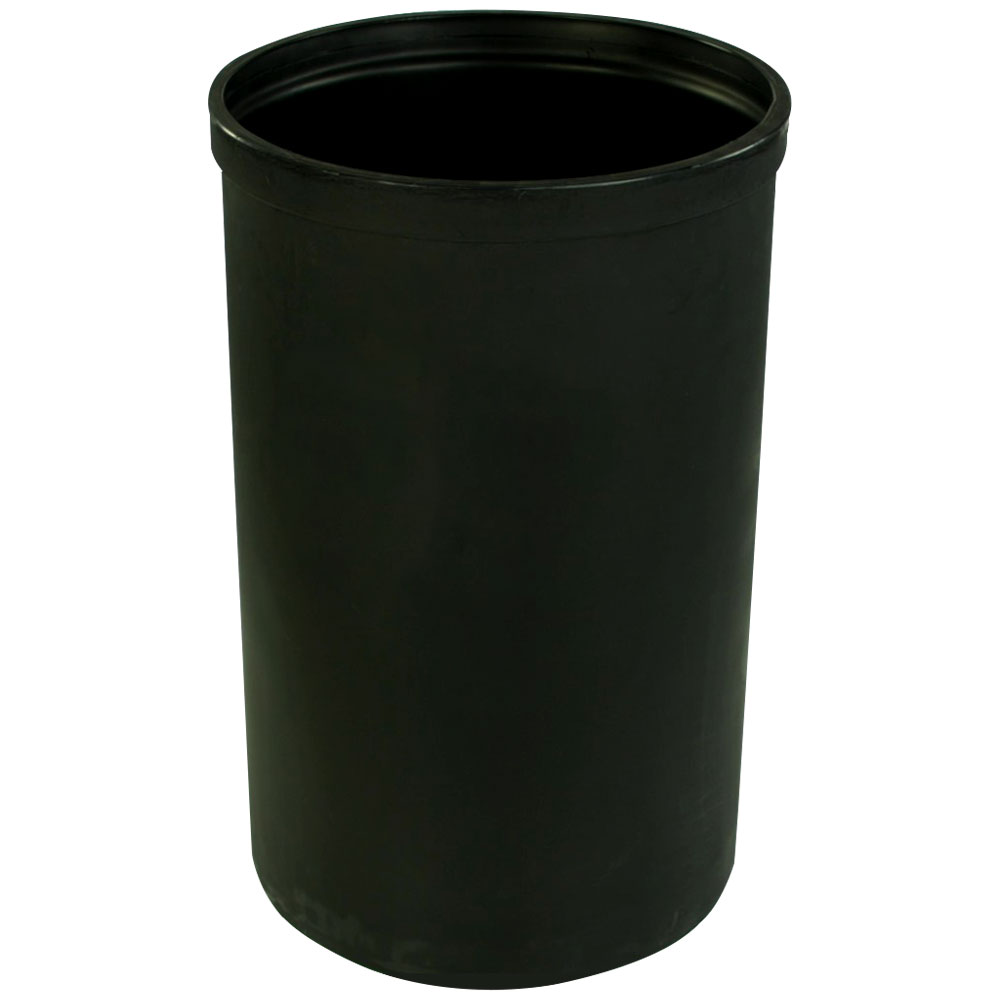 """30 Gallon Black Heavy Weight Tank - 18"""" Dia. x 29"""" High (Cover Sold Separately)"""
