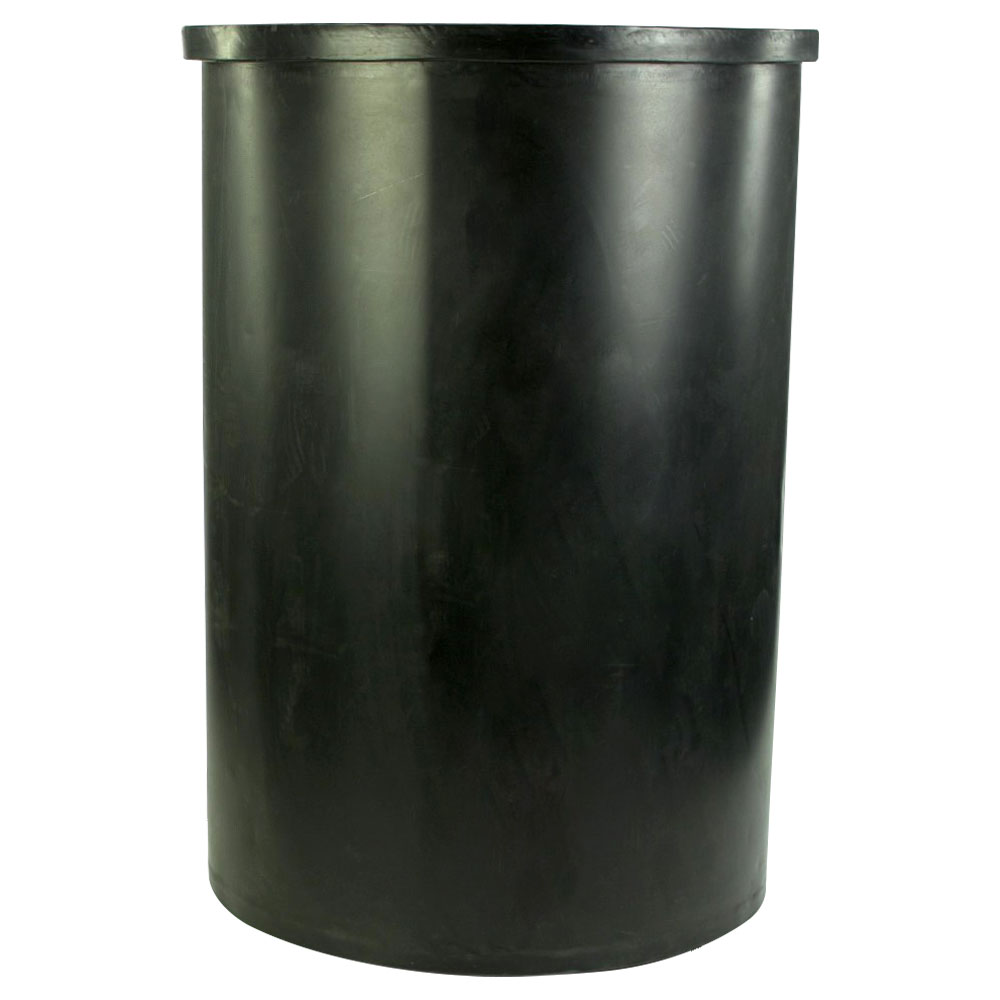 """100 Gallon Black Heavy Weight Tamco® Tank - 28"""" Dia. x 42"""" Hgt. (Cover Sold Separately)"""