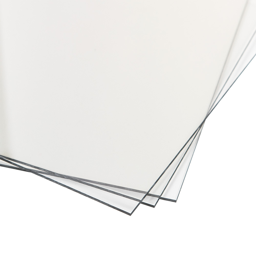 "0.500"" (12.7mm) x 12"" x 24"" TUFFAK® Polycarbonate Sheet"