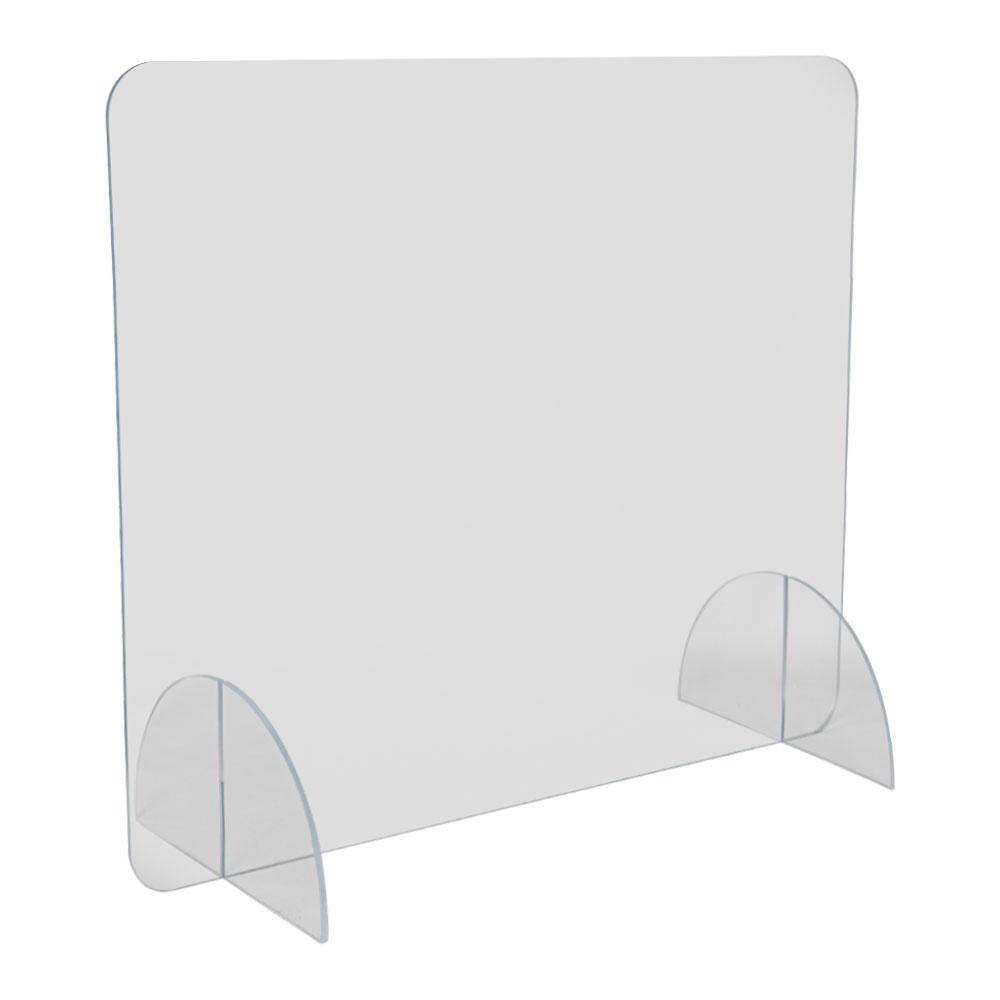"36"" L x 36"" H Tamco® Clear Acrylic Desktop Divider"