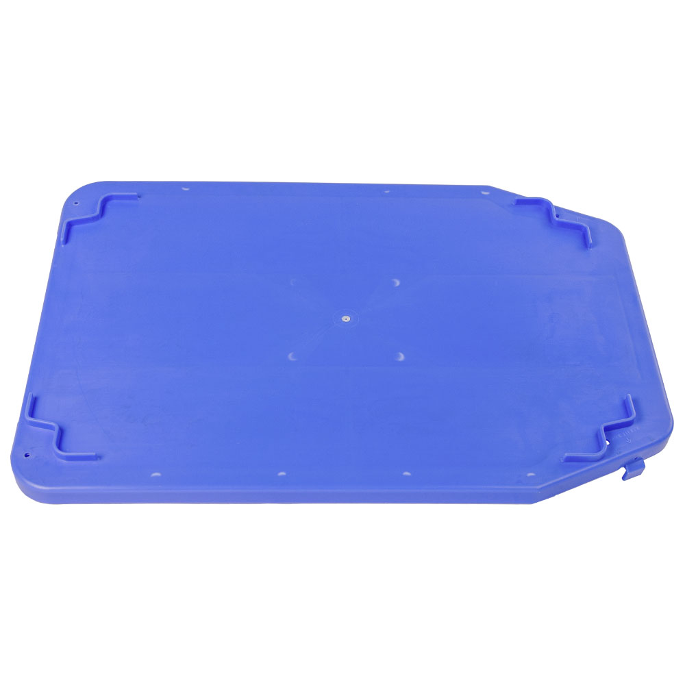 """Blue Cover for 23.7""""L x 15.8""""W Stack & Nest Container"""