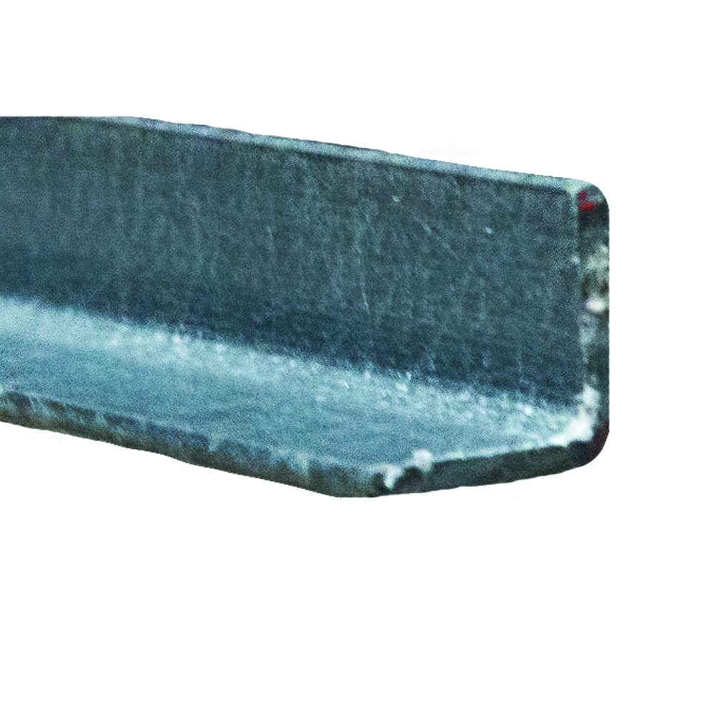 "3"" x 3/8"" Fibergrate Dynaform® Equal Leg Angle; Grey"