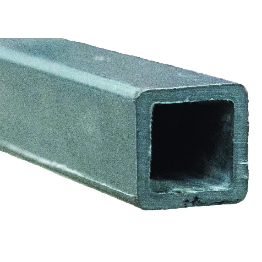 "1-1/2"" x 1/8"" Fibergrate Dynaform® Square Tube; Grey"