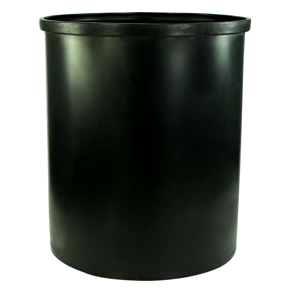 """100 Gallon Black Heavy Weight Tank - 30"""" Dia. x 36"""" Hgt. (Cover Sold Separately)"""
