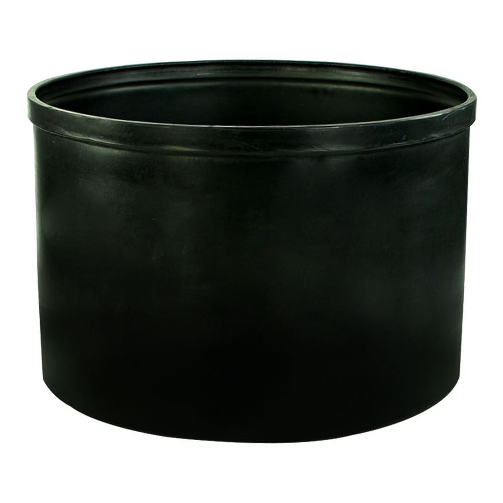 """105 Gallon Black Heavy Weight Tank - 36"""" Dia. x 24"""" Hgt. (Cover Sold Separately)"""