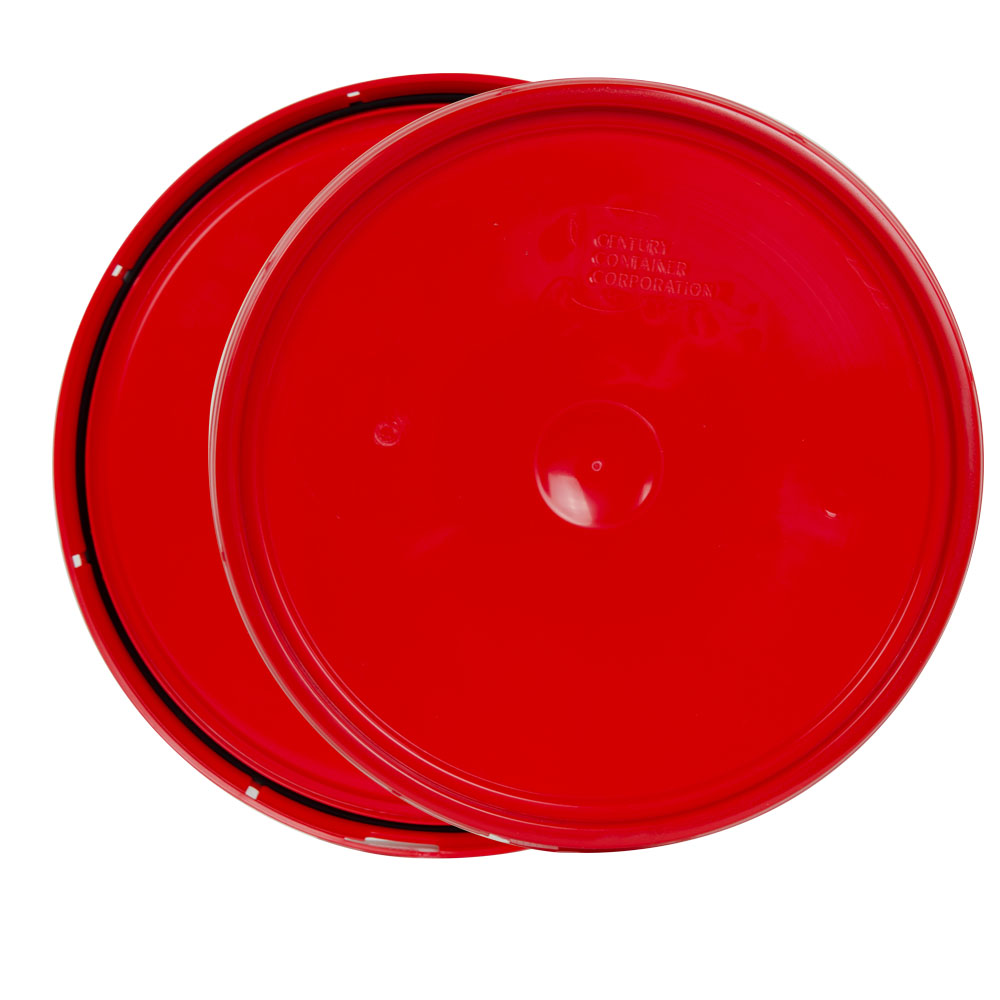 Red 2 Gallon Tear-Tab Lid