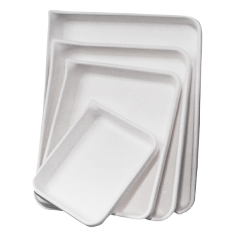 White HDPE Developing Trays