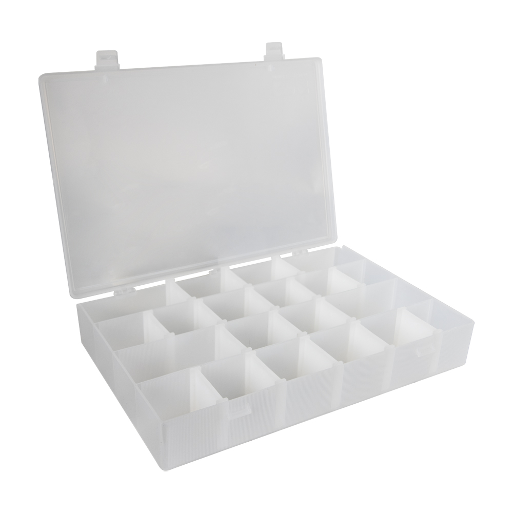"""Infinite Divider System™ w/16 Dividers/4 Compartments - 13-1/2"""" L x 9-1/2"""" W x 2-3/16"""" Hgt."""