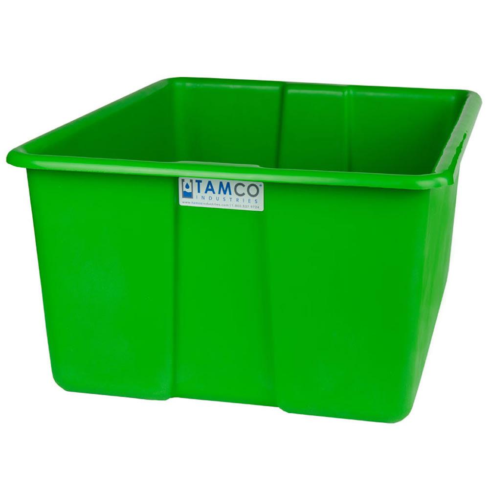 "24"" L x 20"" W x 12"" H Green Polyethylene Tamco® Jumbo Tote Pan"