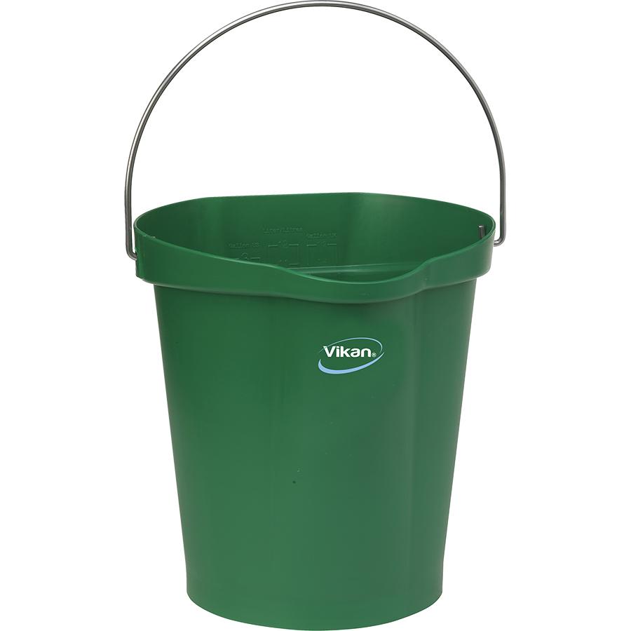 Vikan® Polypropylene Green 3 Gallon Pail