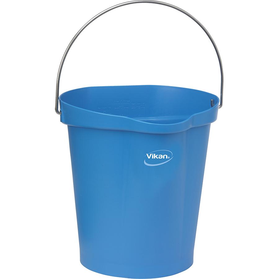 Vikan® Polypropylene Blue 3 Gallon Pail