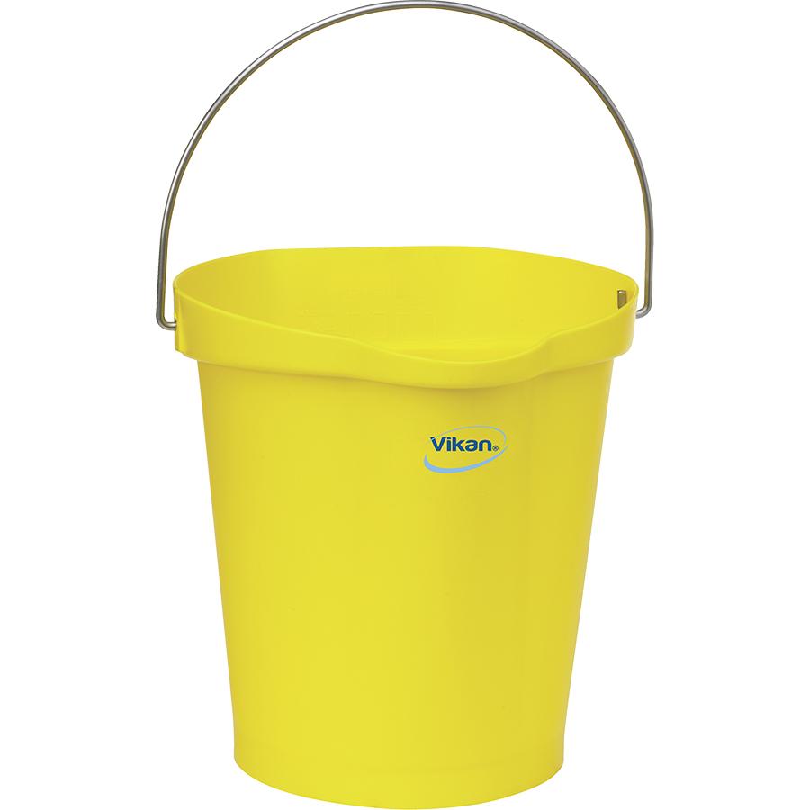 Vikan® Polypropylene Yellow 3 Gallon Pail