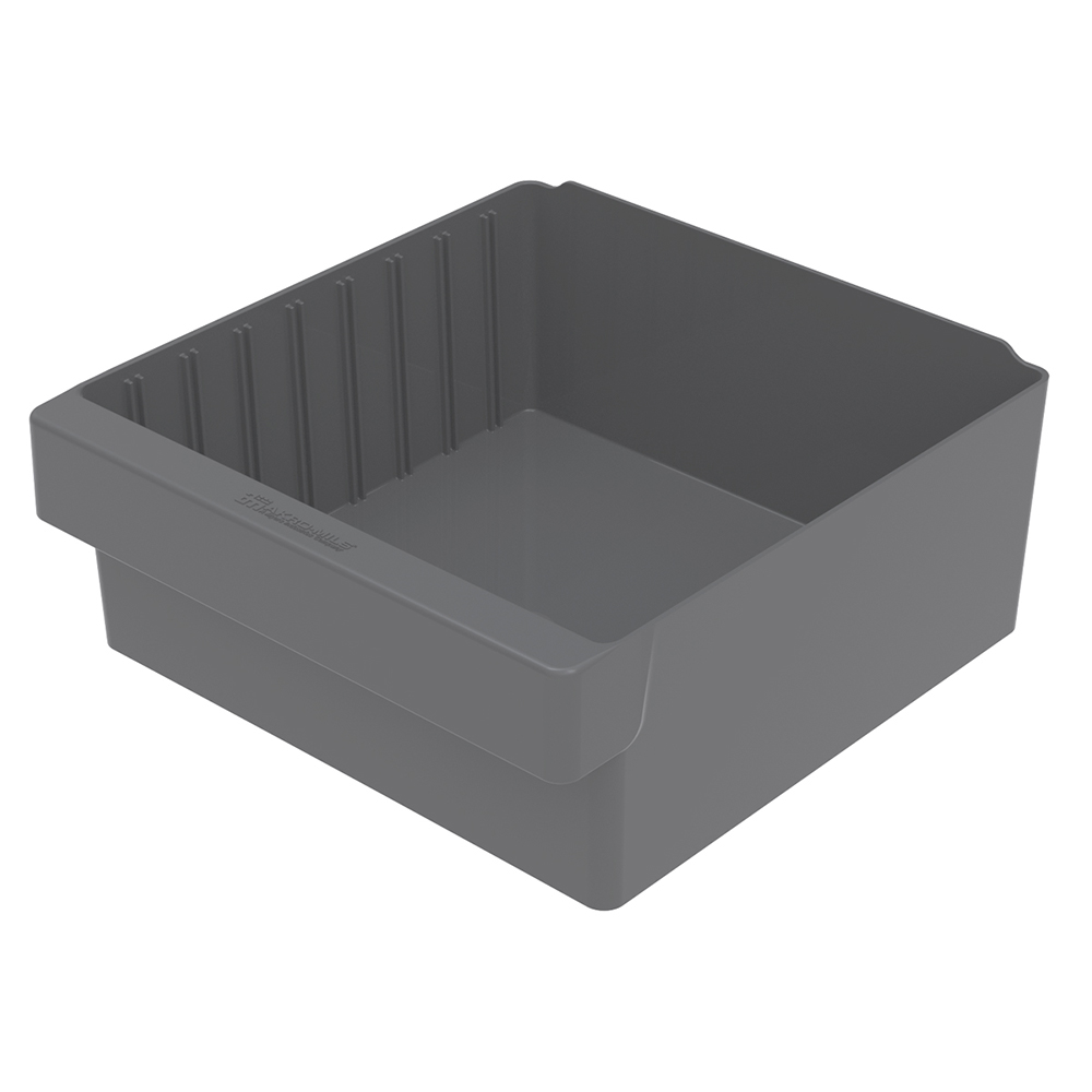 "11-5/8"" L x 11-1/8"" W x 4-5/8"" Hgt. Gray AkroDrawer® Storage Drawer"