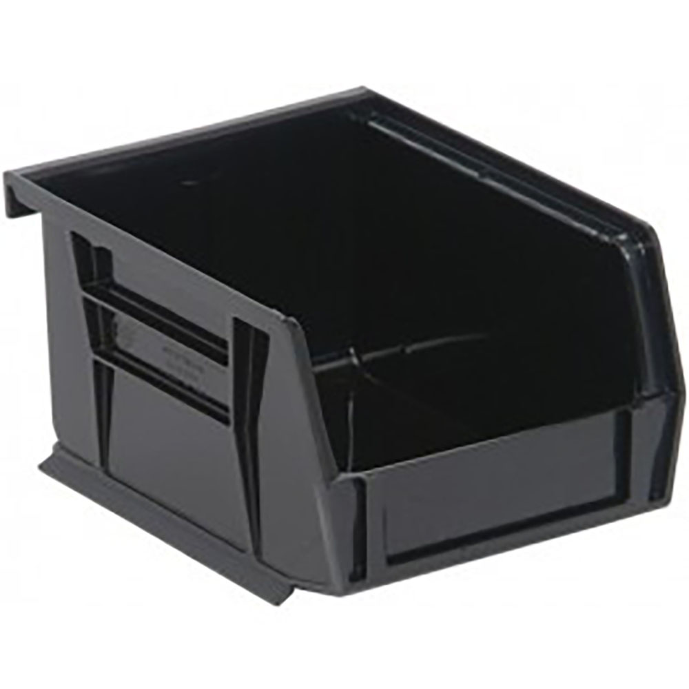 "Black Quantum® Ultra Series Recycled Stack & Hang Bin - 5"" L x 4-1/8"" W x 3"" Hgt."