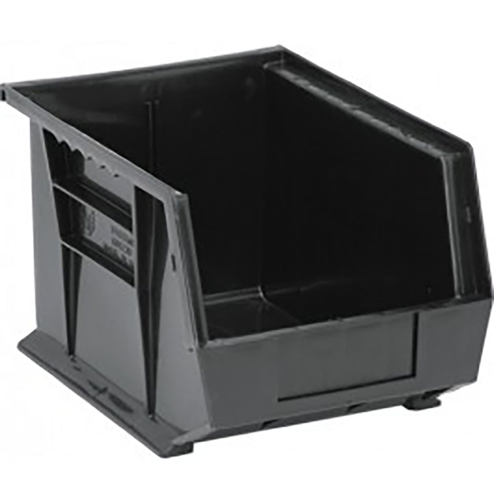 "Black Quantum® Ultra Series Recycled Stack & Hang Bin - 10-3/4"" L x 8-1/4"" W x 7"" Hgt."