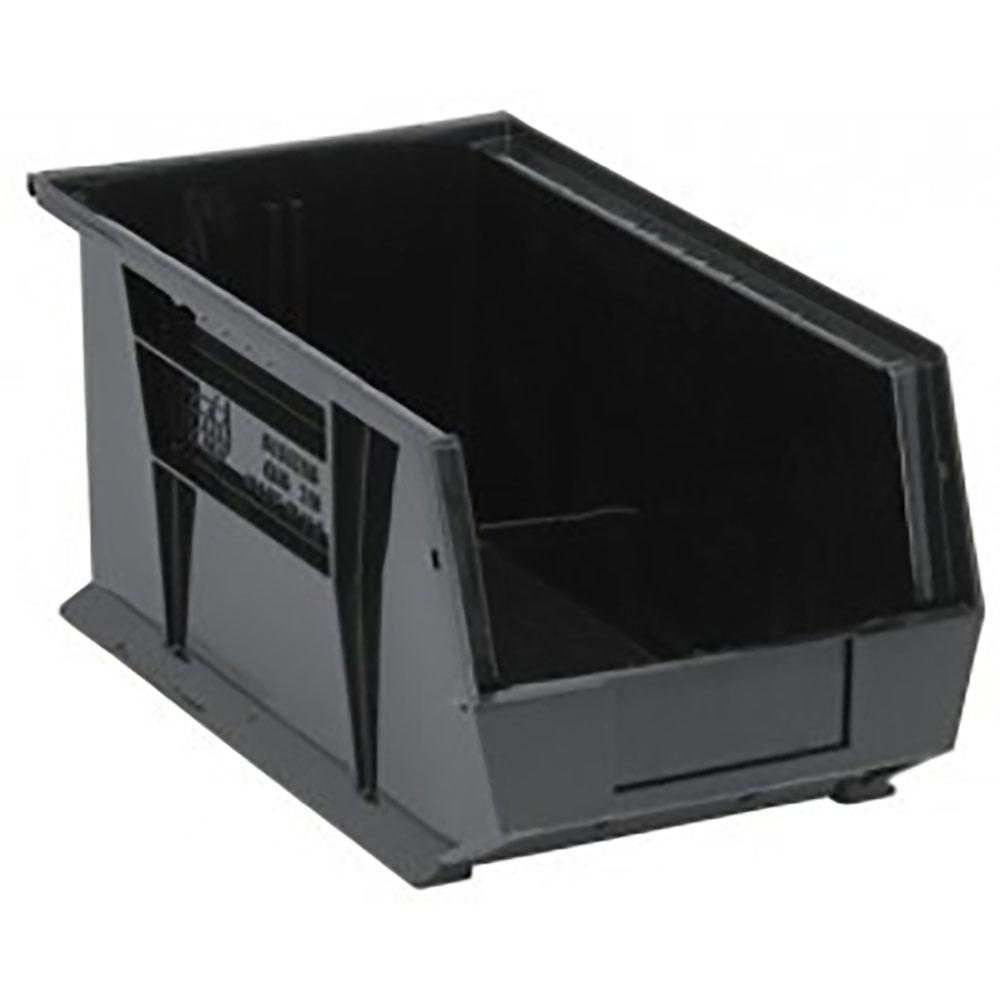 """Black Quantum® Ultra Series Recycled Stack & Hang Bin - 14-3/4"""" L x 8-1/4"""" W x 7"""" Hgt."""
