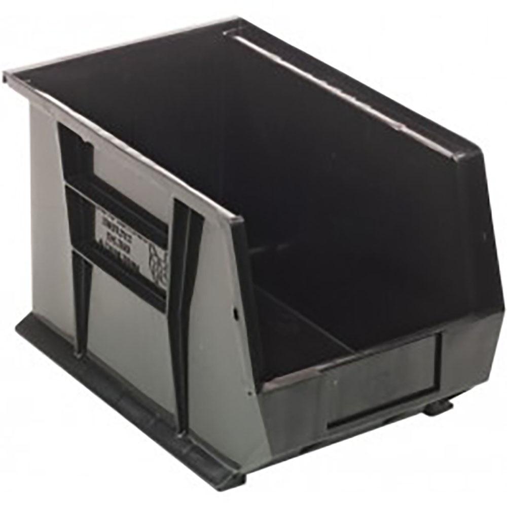 """Black Quantum® Ultra Series Recycled Stack & Hang Bin - 13-5/8"""" L x 8-1/4"""" W x 8"""" Hgt."""