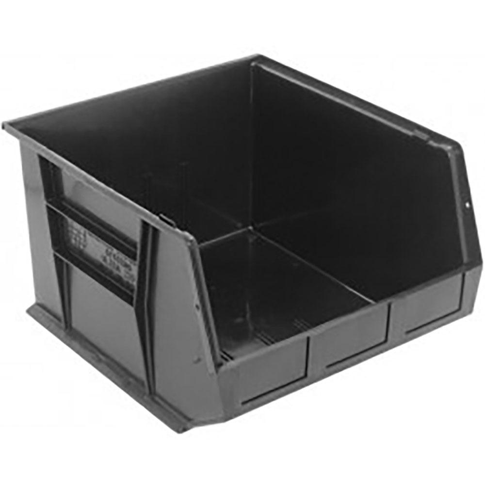 """Black Quantum® Ultra Series Recycled Stack & Hang Bin - 18"""" L x 16-1/2"""" W x 11"""" Hgt."""