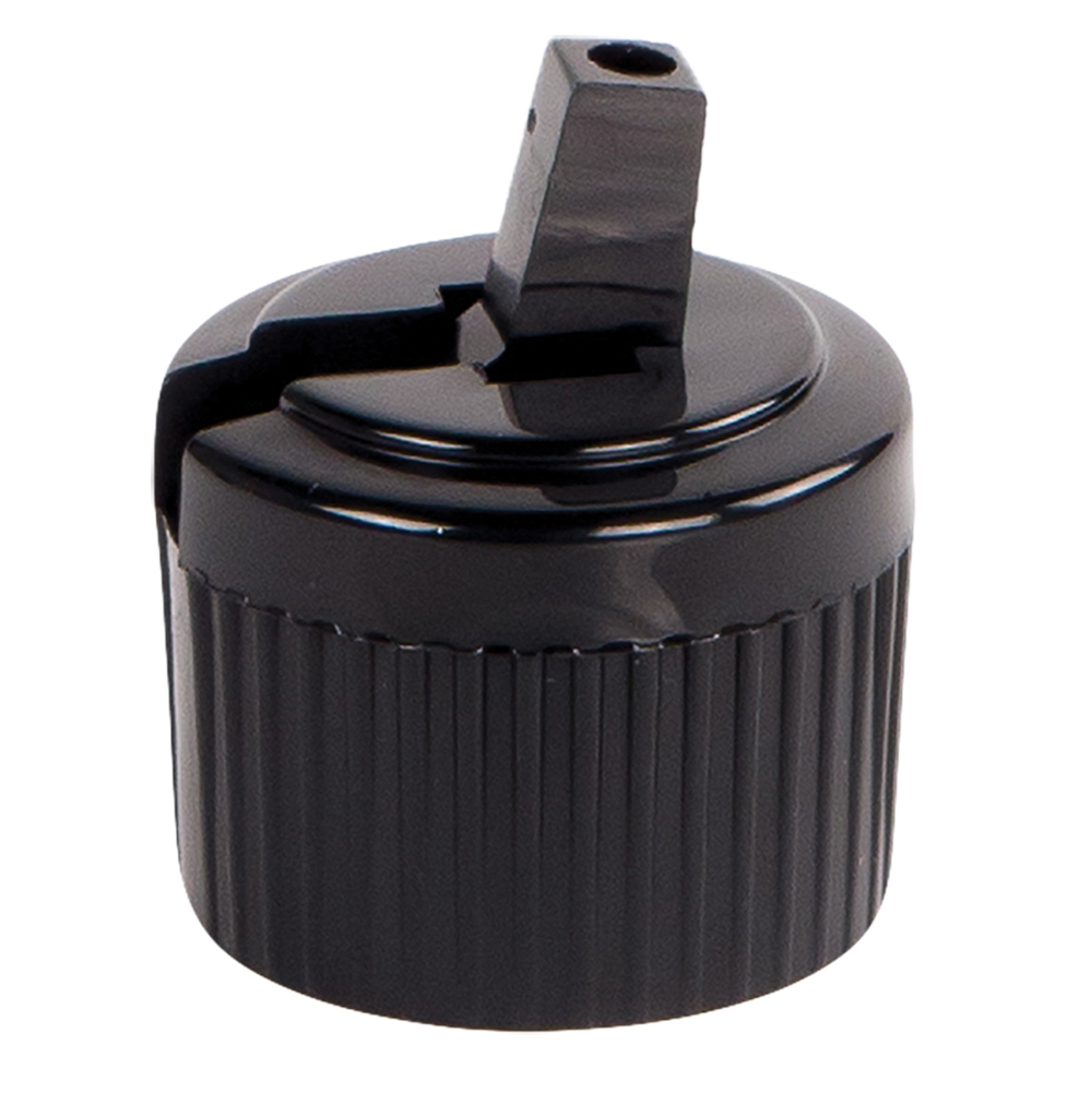 20/410 Black Flip-Top Cap