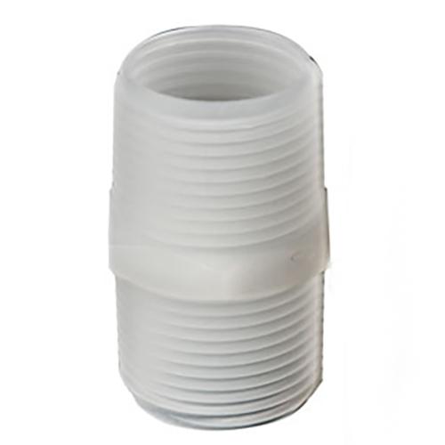 10-32 UNF Thread Natural Kynar® Nipple