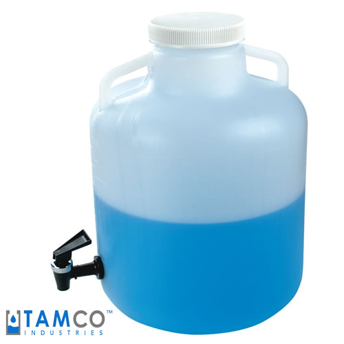 Tamco® Modified Thermo Scientific™ Nalgene™ Wide Mouth Carboys with Spigots